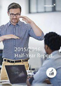 CREALOGIX Halbjahresbericht 2015/2016
