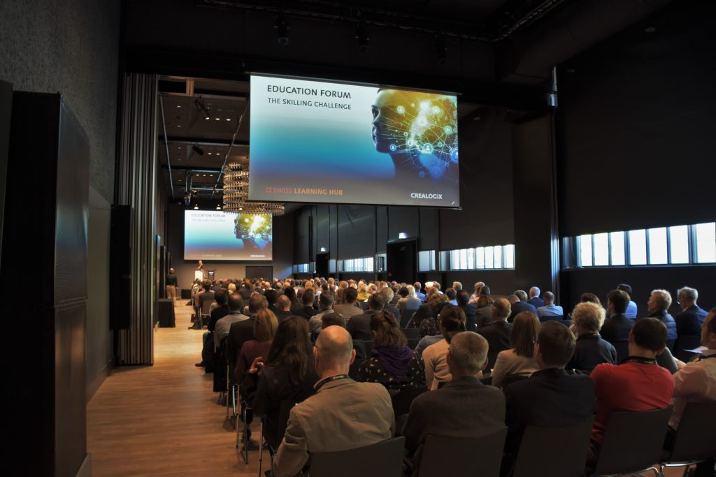 CREALOGIX Education Forum - Impulses for the future of the working world