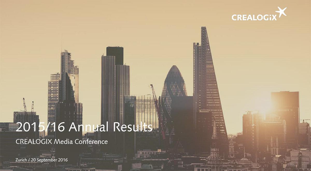 Presentation - Annual Results 2015/2016