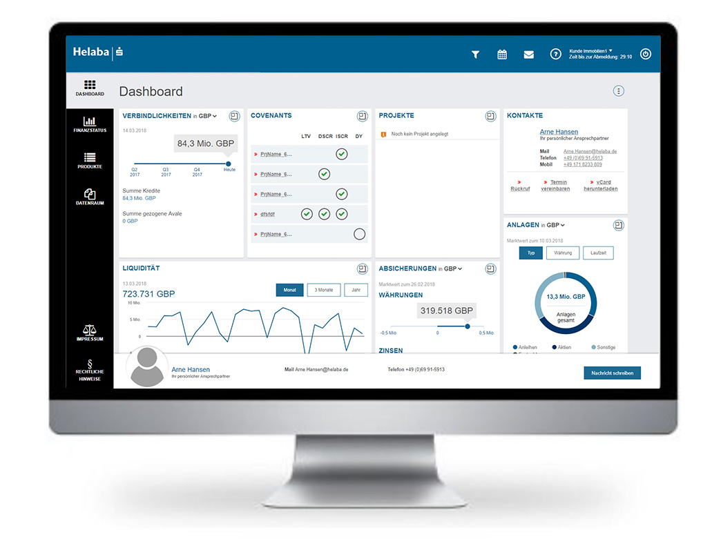 CREALOGIX digital banking interface for Helaba Landesbank