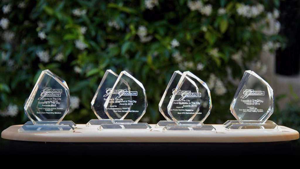 Goodacre Systems in the City technology awards